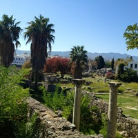 Photo taken at Ancient Agora by Cems on 10/23/2013