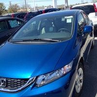 Photo Taken At Crown Honda Greensboro By Jessie M. On 4/13/2013 ...