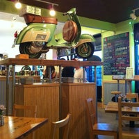 Photo taken at Vitta Pizza by Meg J. on 5/16/2013