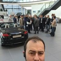 Photo taken at Audi by Barış A. on 4/17/2015