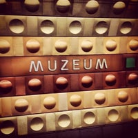 Photo taken at Metro =A= =C= Muzeum by Jaroslav M. on 4/27/2013