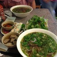 Photo taken at Phở Saigon by hai h. on 12/20/2012
