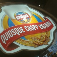Photo taken at Quiosque Chopp Brahma by Marcello c. on 12/27/2012