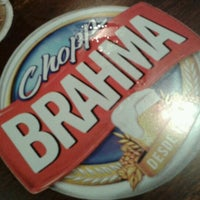 Photo taken at Quiosque Chopp Brahma by Marcello c. on 9/27/2012