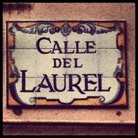 Photo taken at Calle Laurel by Daniel M. on 9/23/2012