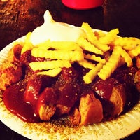 Photo taken at Maximilian Currywurst by mrschtief on 2/7/2014