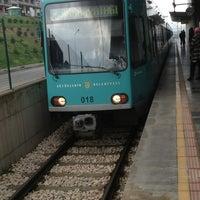 Photo taken at Ataevler Metro İstasyonu by Yakup Ö. on 4/17/2013