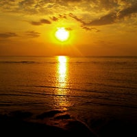 Photo taken at Pantai Penimbangan by GI G. on 9/12/2015