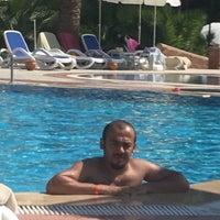 Photo taken at Ephesia Beach Havuz by HAKAN E. on 9/15/2016
