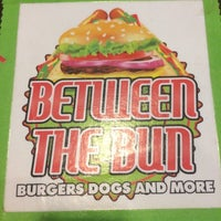 Photo taken at Between the Bun - Burgers, Dogs and More by Austin M. on 6/28/2014
