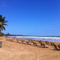 Photo taken at Wyndham Grand Rio Mar Beach Resort & Spa by Reinaldo D. on 3/10/2013