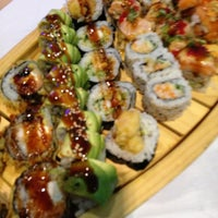Photo taken at Makiman Sushi by Christine D. on 6/12/2013