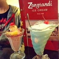 Photo taken at Zangrandi Ice Cream by Irenz K. on 11/24/2015