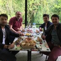 Photo taken at Ayvaz Alabalık Atayurt by Ferat A. on 4/27/2018