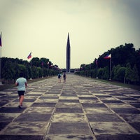 Photo taken at Capas National Shrine by james g. on 4/20/2013
