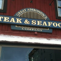 Photo taken at Great Adirondack Steak and Seafood by Jodi K. on 11/26/2012