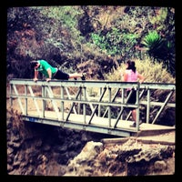 Photo taken at Temescal Canyon by Alison C. on 11/8/2012