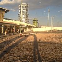 Photo taken at Aeropuerto El Loa (CJC) by Humberto Adrian M. on 1/30/2013
