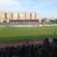 Photo taken at Rohonci úti stadion by Porike 💪🐧☺️ on 7/19/2015