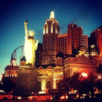 Photo taken at New York-New York Hotel & Casino by M.J. L. on 6/25/2013