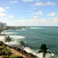 Photo taken at The Condado Plaza Hilton by Larom24 on 11/4/2012