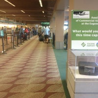 Photo taken at Eugene Airport (EUG) by Casey B. on 7/8/2013