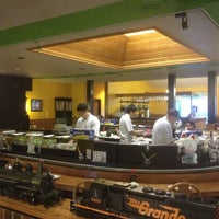 Photo taken at Sushi Train by Casey B. on 5/30/2013