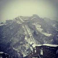 Photo taken at Great Wall at Mutianyu by Angie J. on 1/20/2013