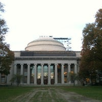 Photo taken at MIT Building 7 (Rogers Building) by Aljaž S. on 11/5/2012