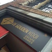 Photo taken at De Gouden Kooi - Escape games by Gitte T. on 2/11/2017