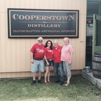 Photo taken at Cooperstown Distillery by Sandy D. on 5/30/2015