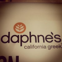 Photo taken at Daphne's California Greek by Cesare G. Q. on 1/11/2013