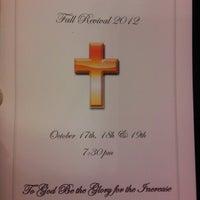 Photo taken at First Baptist Church Of Ken-Gar by SLEEK~ on 10/18/2012