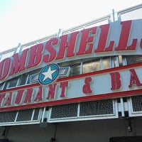 Photo taken at Bombshells Restaurant & Bar by Randall H. on 3/14/2013