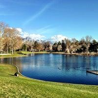 Photo taken at Liberty Park by Erika W. on 3/30/2013