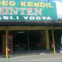 Photo taken at Gudeg Kendil Bu Djuminten by &iet S. on 10/25/2012