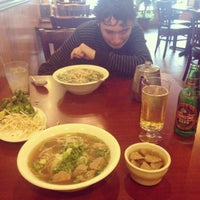 Photo taken at H Pho by Tessa D. on 9/13/2015