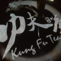 Photo taken at Kung Fu Tea (功夫茶) by Matthew on 10/7/2012