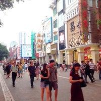Photo taken at 北京路步行街 Beijing Road Pedestrian Street by Pornnapa P. on 10/14/2013