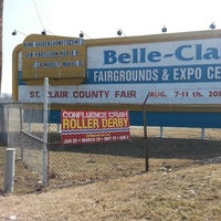 Photo taken at Belle-Clair Fairgrounds & Expo Center by Lipstick on 3/9/2014