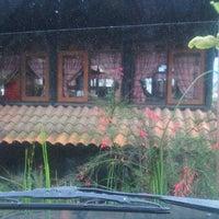 Photo taken at Rumah Kayu Resto & Cottage by tita tsahij sah on 11/15/2012