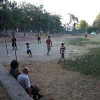Photo taken at Yeşil Dardanos Tatil Sitesi by Gizem Ö. on 8/8/2013