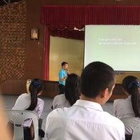 Photo taken at Horpra School by Ning_knk😺 on 10/3/2015
