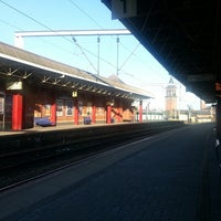 Photo taken at Deansgate Railway Station (DGT) by Bex L. on 6/3/2013