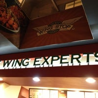 Photo taken at Wingstop by Jerry G. on 5/1/2013