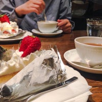 Photo taken at La cour cafe by nks on 4/18/2015
