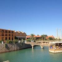 Photo taken at Sheraton Miramar Resort El Gouna by Hubert A. on 11/28/2012