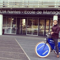Photo taken at Audencia Nantes by Nushad M. on 10/19/2015