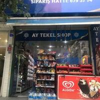 Photo taken at Ay Tekel Shop by Fırat E. on 2/26/2018