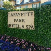 Photo taken at Lafayette Park Hotel & Spa by Bill G. on 11/7/2013